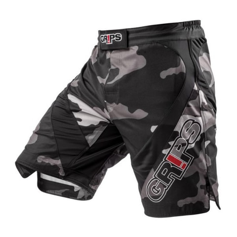 Grips MMA Short Diablo Night Camo