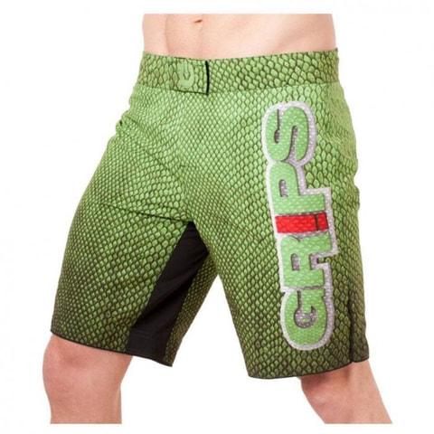 Grips MMA Short Green Snake