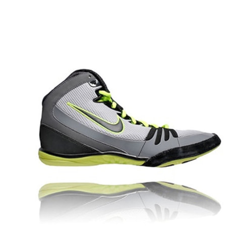 Nike Freek Grey/Neon Green