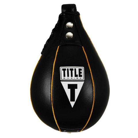 TITLE Leather Super Fast Speed Bag