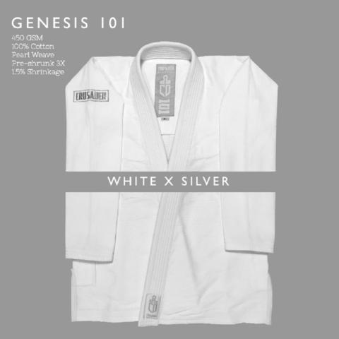 Crusader Genesis White x Silver