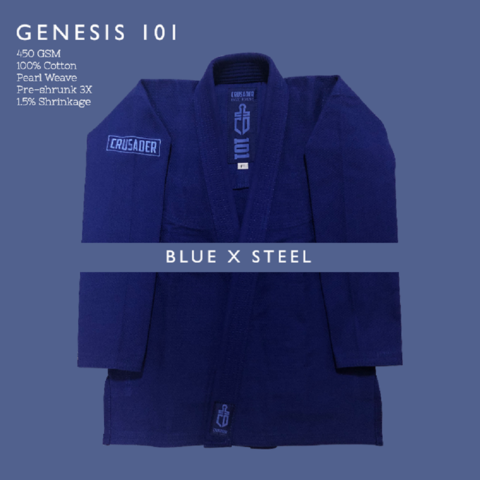 Crusader Genesis Blue x Steel