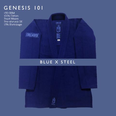 Crusader Genesis Blue x Steel