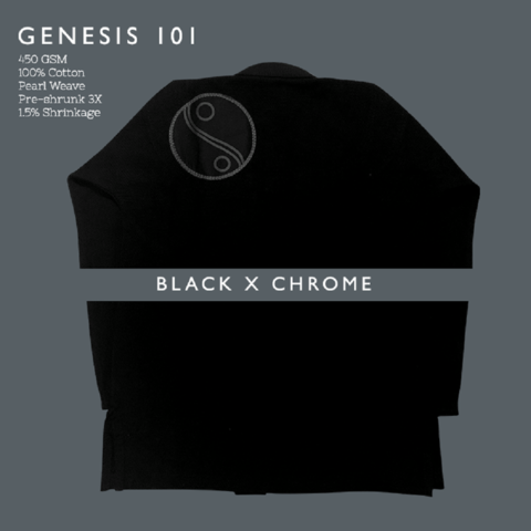 Crusader Genesis Black x Chrome