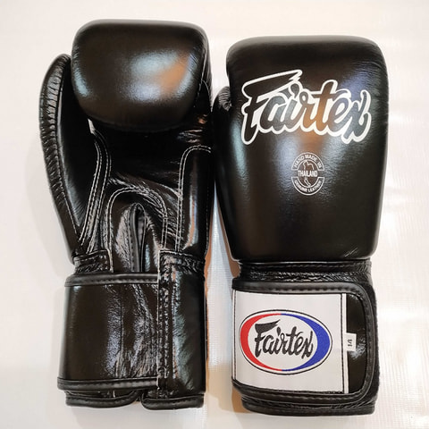 Fairtex  BGV1 Leather Gloves 12.oz