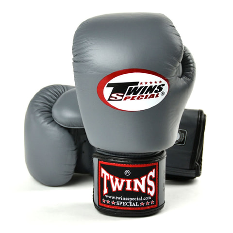 Twins Boxing Gloves Gray