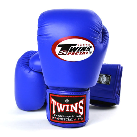 Twins Boxing Gloves Blue