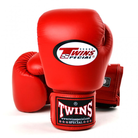 Twins Boxing Gloves Red
