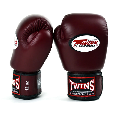 Twins Boxing Gloves Maroon