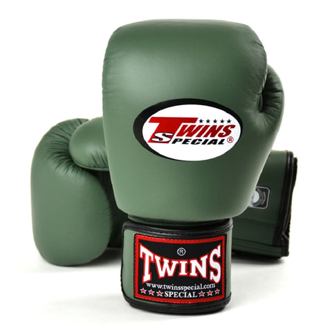 Twins Boxing Gloves Olive Green