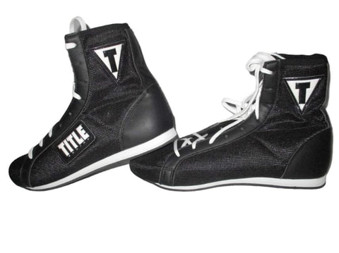 TITLE Innovate Mid Boxing Shoes [Black]