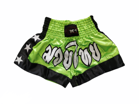 K-1 Muaythai Shorts [Neon Green]