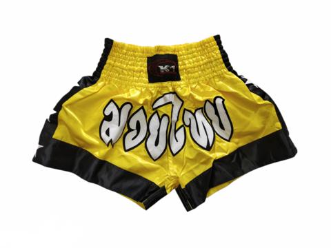 K-1 Muaythai Shorts [Yellow]