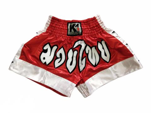 K-1 Muaythai Shorts [Red]