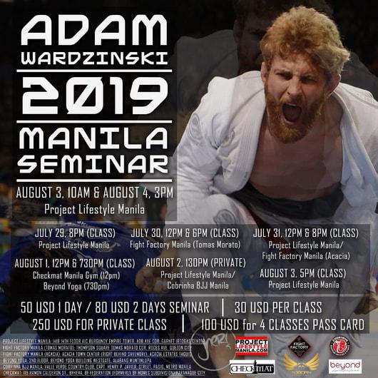 Adam Wardzinski 2019 Seminar