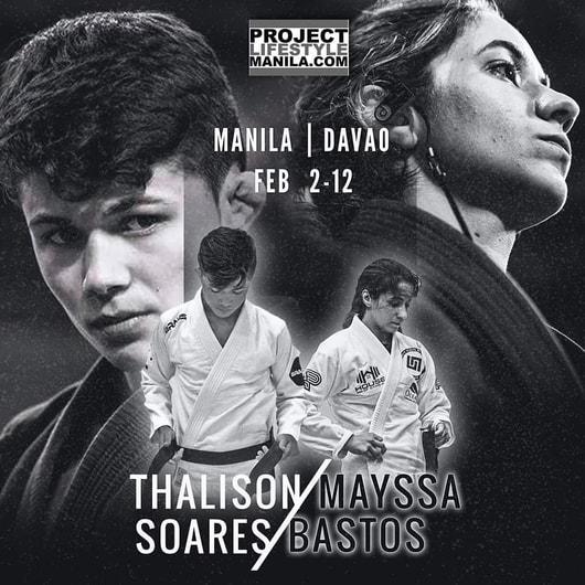 Thalison Soares and Mayssa Bastaos seminar in Manila in Feb.2-12.
